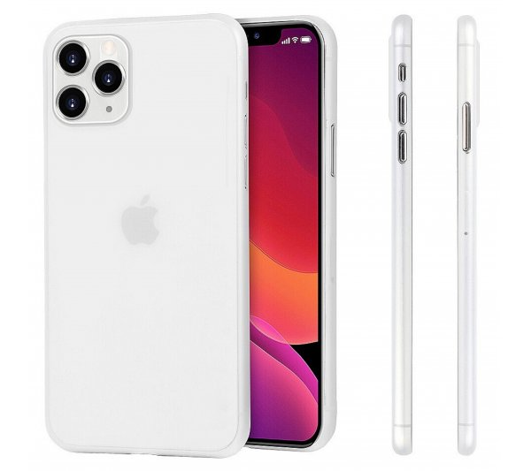 Ultratenký kryt Full iPhone 11 Pro Max - biely