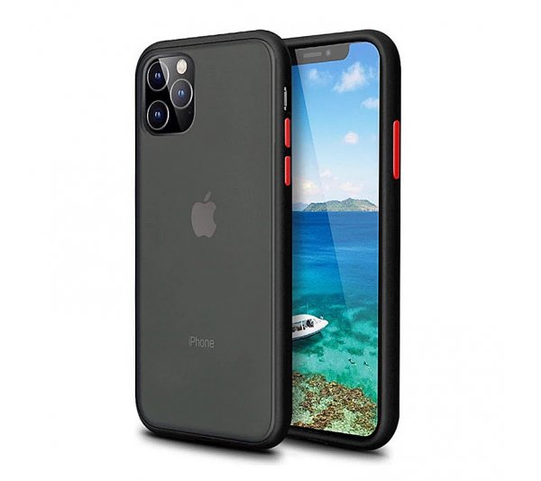 Kryt Strong iPhone 11 Pro Max - čierny