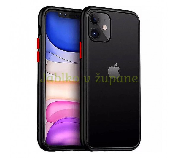 Kryt Strong iPhone 11 - čierny