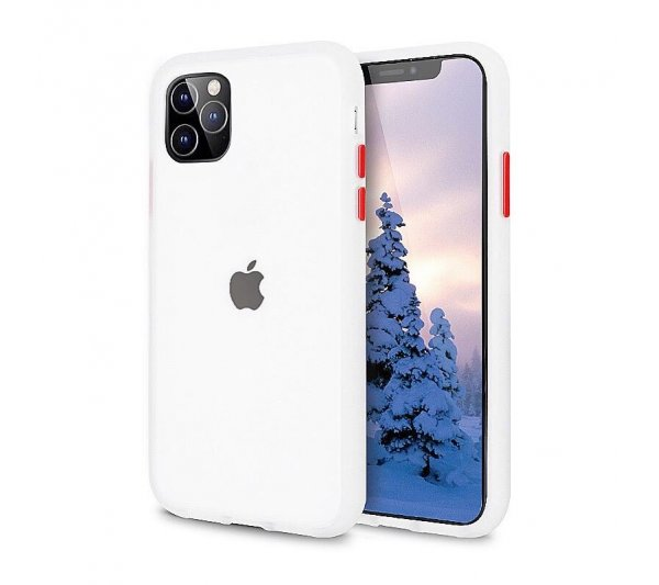 Kryt Strong iPhone 11 Pro Max - priesvitný
