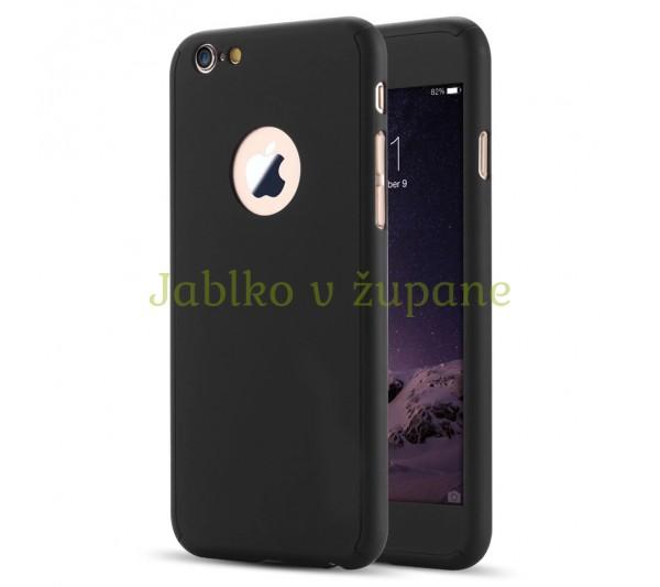 360° full body kryt Apple iPhone 6 6S - čierny 7bec7a7e577