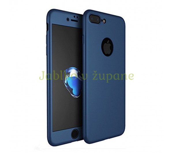 360° Full body kryt Apple iPhone 7 Plus 8 Plus - modrý 8746732f30d
