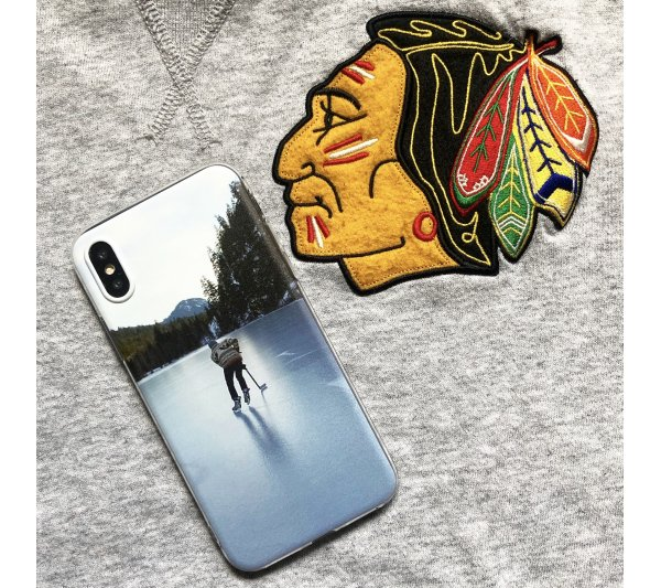 Kryt Hockey player iPhone X, XS