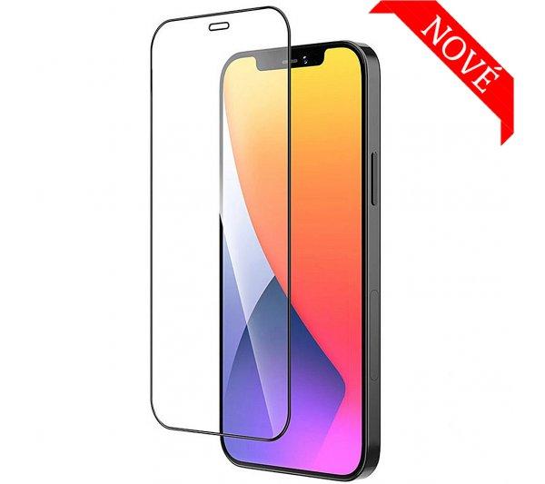 Tvrdené sklo s rámom iPhone 12 Pro Max