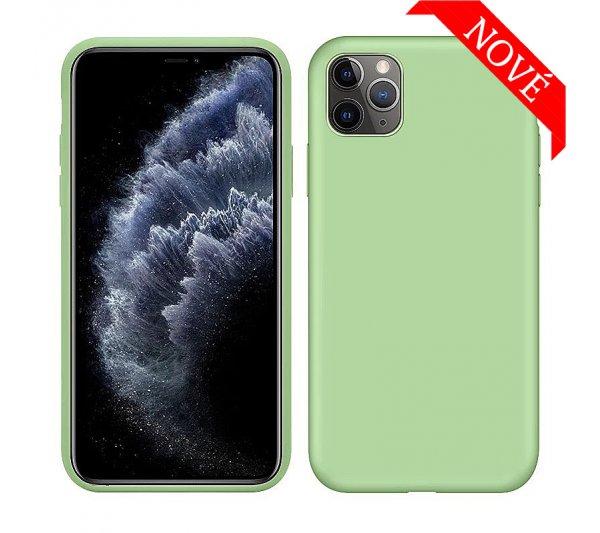 Silikónový kryt iPhone 11 Pro Max - zelený