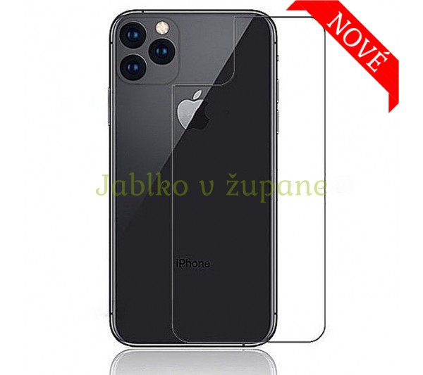 Tvrdené sklo Prémium HD iPhone 11 Pro Max - zadné