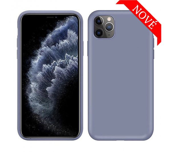 Silikónový kryt iPhone 11 Pro - svetlo modrý