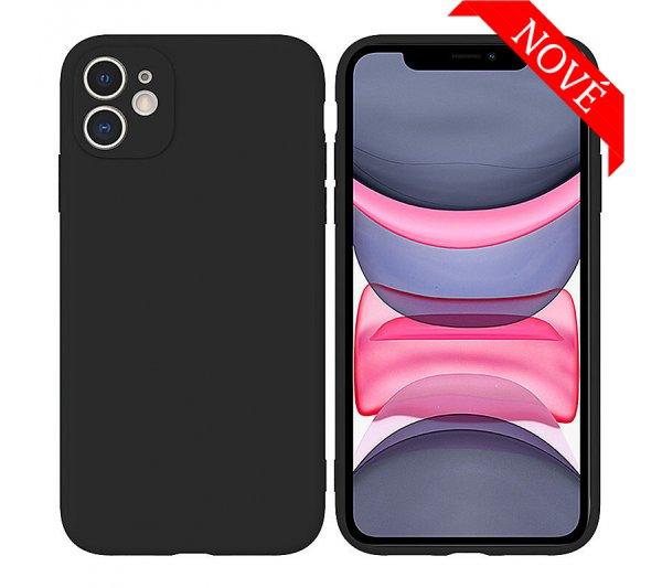 Silikónový kryt iPhone 11 - čierny