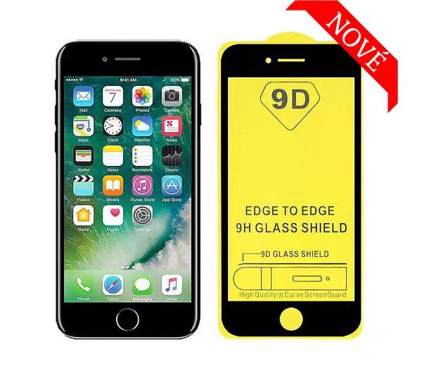 9D tvrdené sklo Prémium iPhone 6/6S Plus, 7/8 Plus - čierne