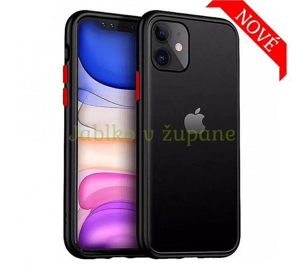 Kryt Strong iPhone 12 Mini - čierny