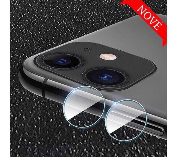 Tvrdené sklo pre kameru a fotoaparát iPhone 11, 12 Mini, 12
