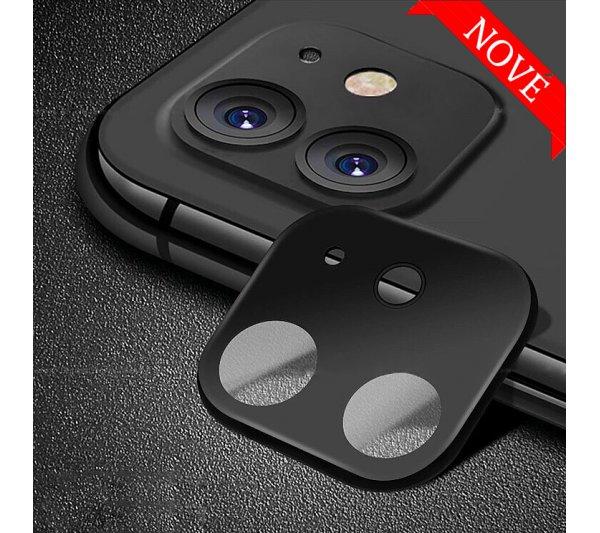 Ochranný kryt so sklom pre fotoaparát iPhone 11 - čierny