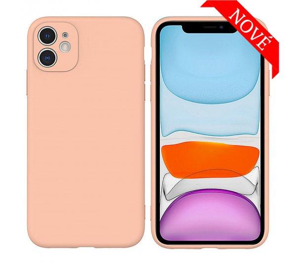 Silikónový kryt iPhone 11 - ružový