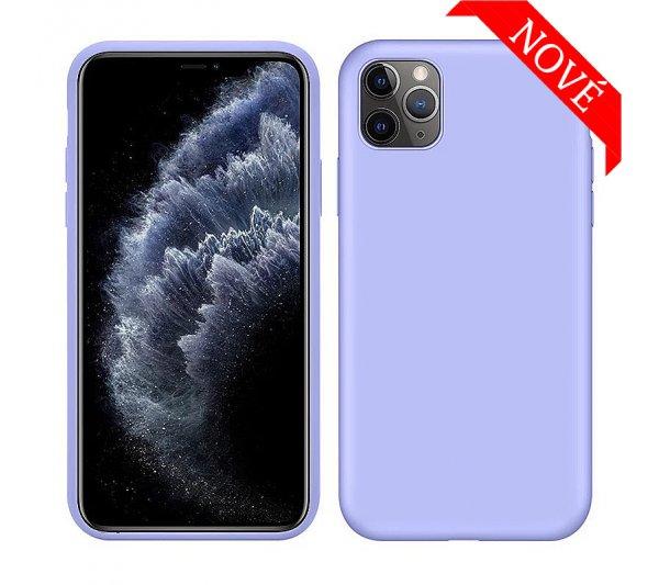 Silikónový kryt iPhone 11 Pro Max - fialový
