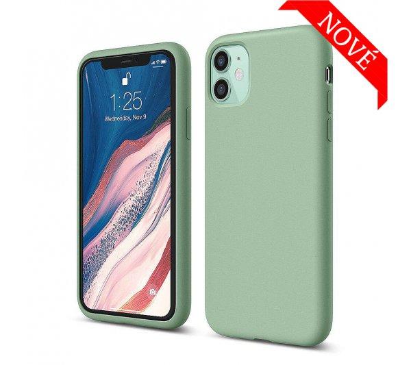 Silikónový kryt iPhone 11 - zelený