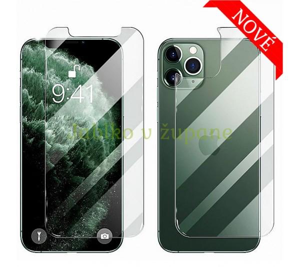 Tvrdené sklo Prémium HD iPhone 12 Mini - predné + zadné