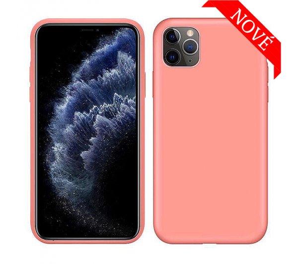 Silikónový kryt iPhone 11 Pro Max - ružový