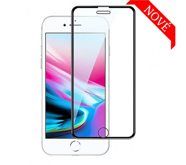 3D tvrdené sklo iPhone 6/6S, 7/8, SE 2