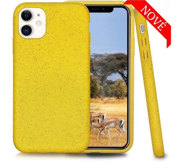 Eco Bio kryt iPhone 11 - žltý
