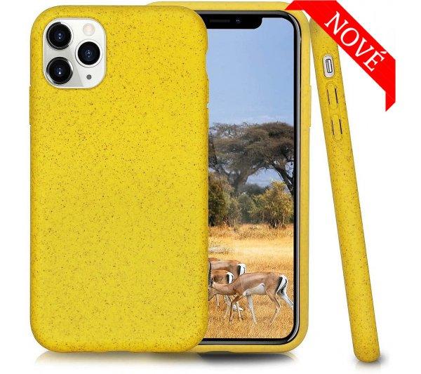 Eco Bio kryt iPhone 11 Pro - žltý