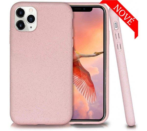Eco Bio kryt iPhone 11 Pro Max - ružový