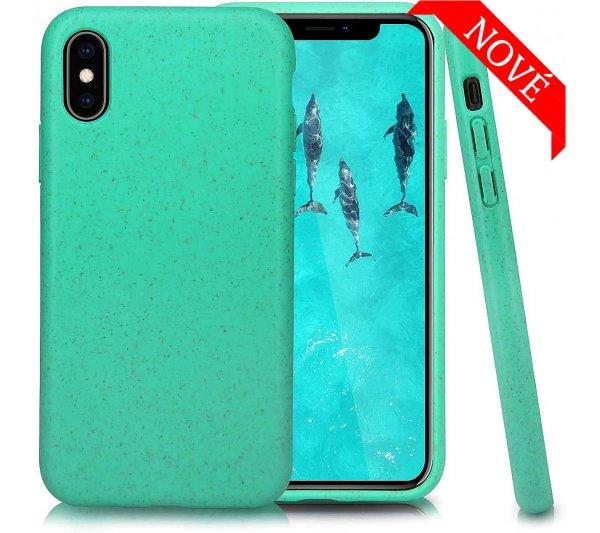 Eco Bio kryt iPhone X, XS - zelený