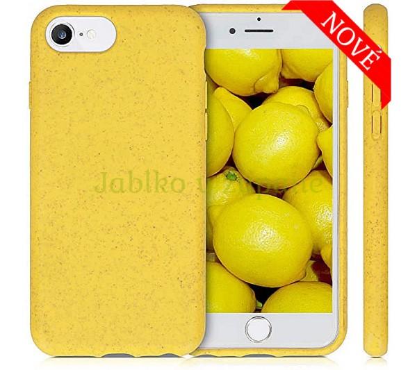 Eco Bio kryt iPhone 6/6S, 7/8, SE 2 - žltý