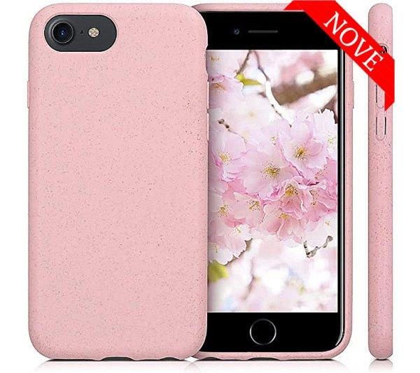 Eco Bio kryt iPhone 6/6S, 7/8, SE 2 - ružový