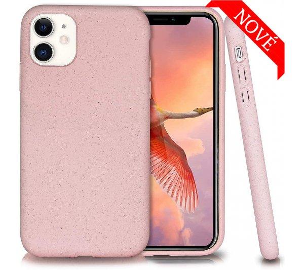 Eco Bio kryt iPhone 11 - ružový