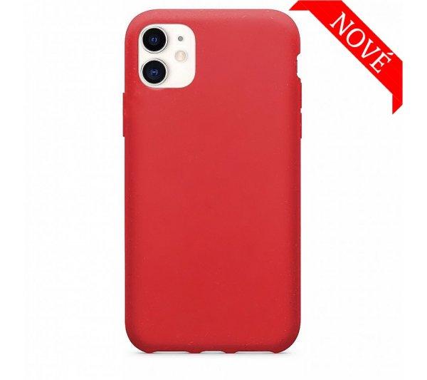 Eco Bio kryt iPhone 11 - červený