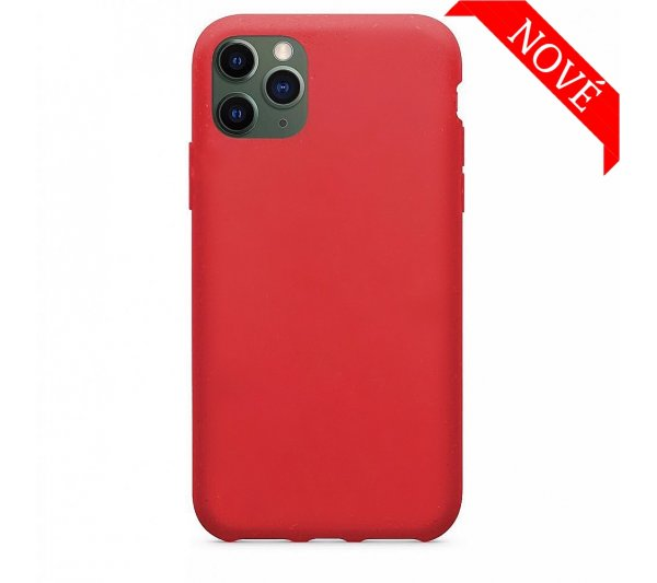 Eco Bio kryt iPhone 11 Pro Max - červený