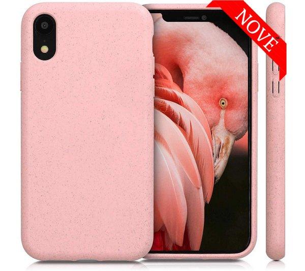 Eco Bio kryt iPhone XR - ružový