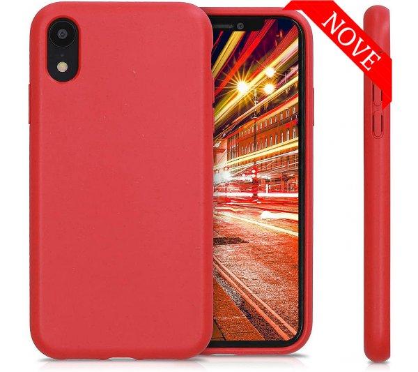 Eco Bio kryt iPhone XR - červený