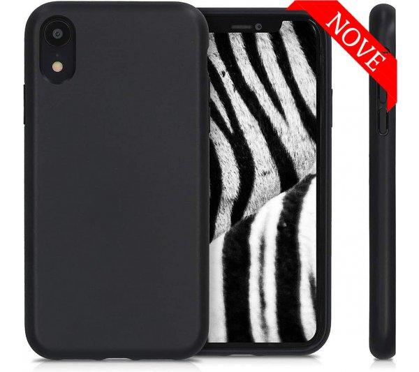 Eco Bio kryt iPhone XR - čierny