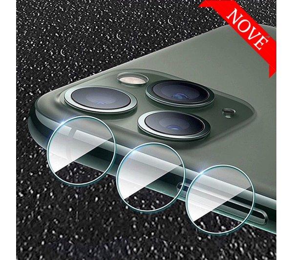 Tvrdené sklo pre kameru a fotoaparát iPhone 11 Pro, 11 Pro Max, 12 Pro, 12 Pro Max