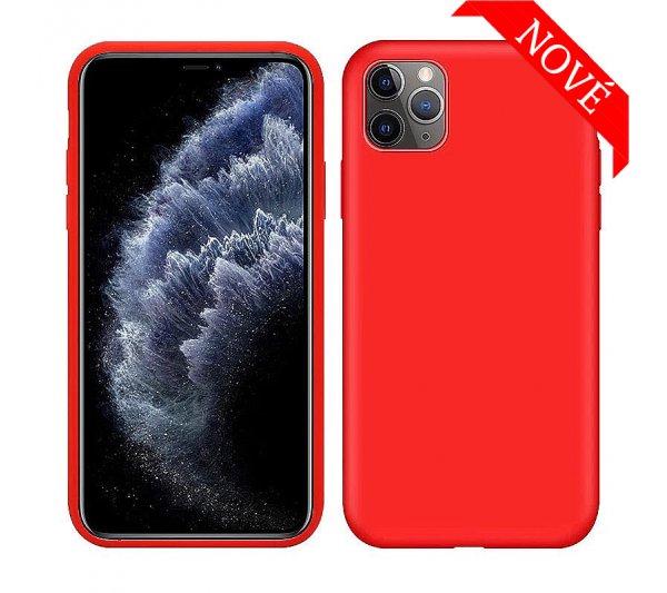 Silikónový kryt iPhone 11 Pro - červený