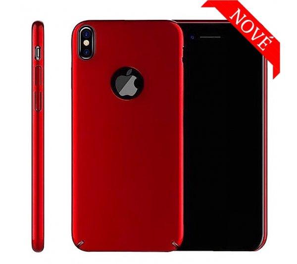 Kryt Thin iPhone X, XS - červený
