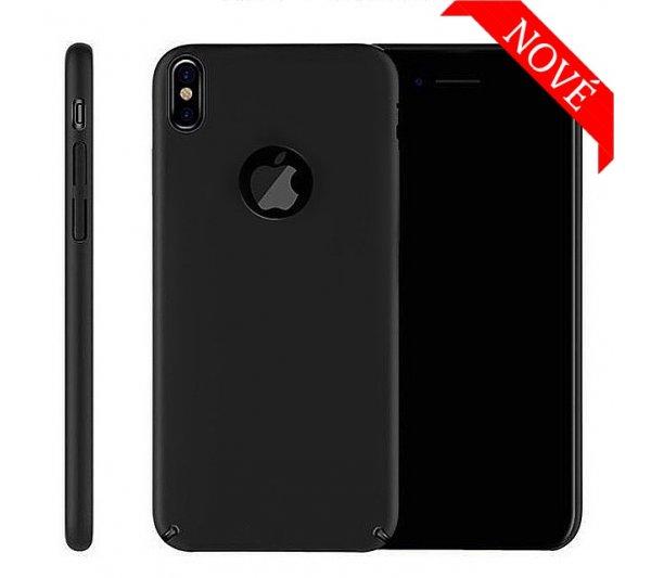 Kryt Thin iPhone X, XS - čierny