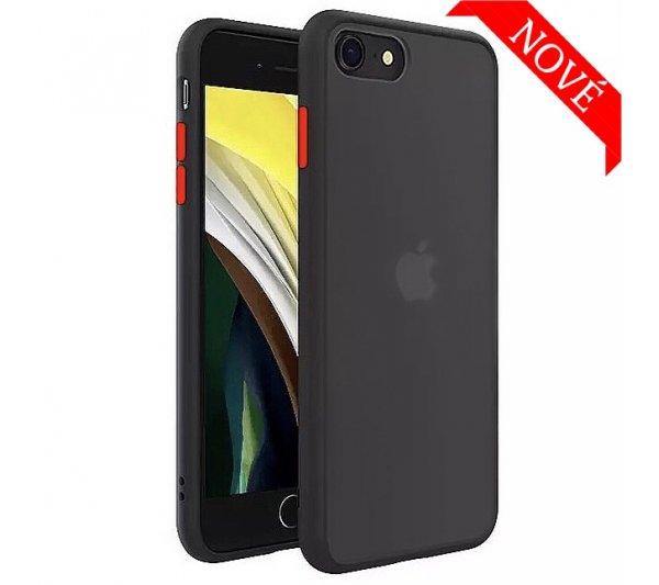 Kryt Strong iPhone 6/6S, 7/8, SE 2 - čierny
