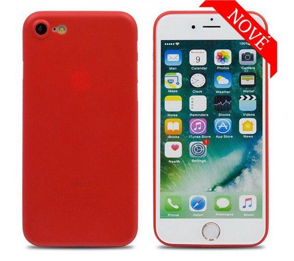 Ultratenký kryt Full iPhone 7/8, SE 2 - červený