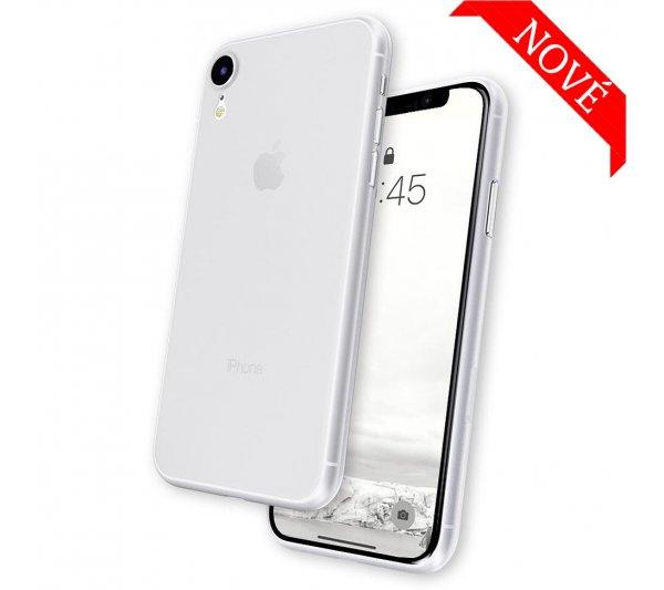 Ultratenký kryt Full iPhone XR - biely