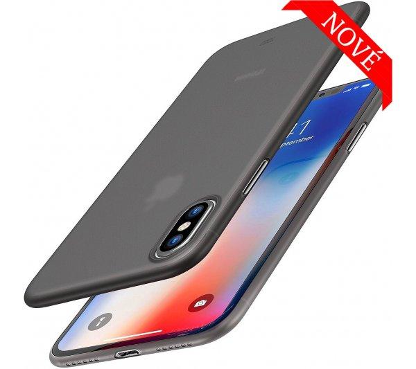 Ultratenký kryt Full iPhone XS Max - čierny