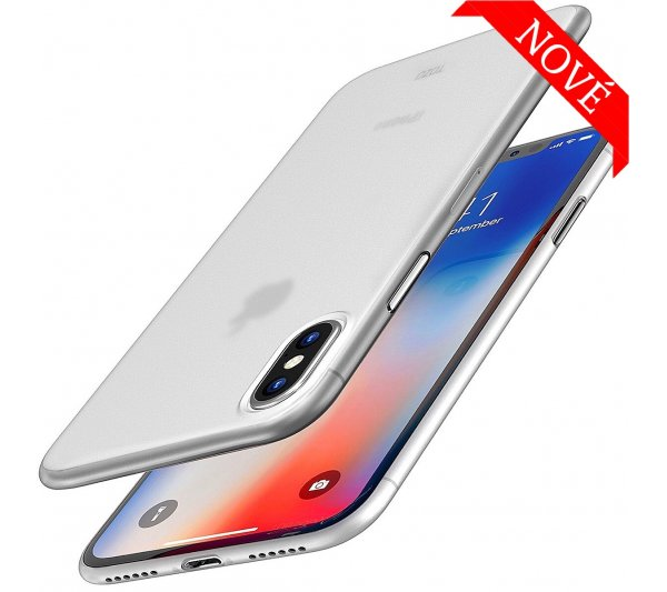 Ultratenký kryt Full iPhone XS Max - biely