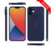 Ultratenký kryt Full iPhone 12 Mini - modrý