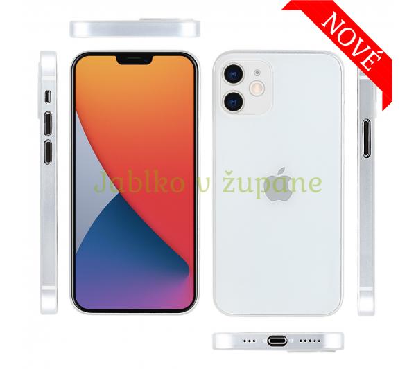 Ultratenký kryt Full iPhone 12 Mini - biely