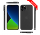 Ultratenký kryt Full iPhone 12 Pro Max - sivý