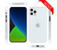 Ultratenký kryt Full iPhone 12 Pro Max - biely