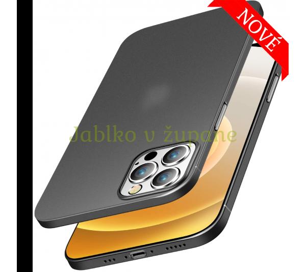 Ultratenký kryt iPhone 12 Pro Max - čierny