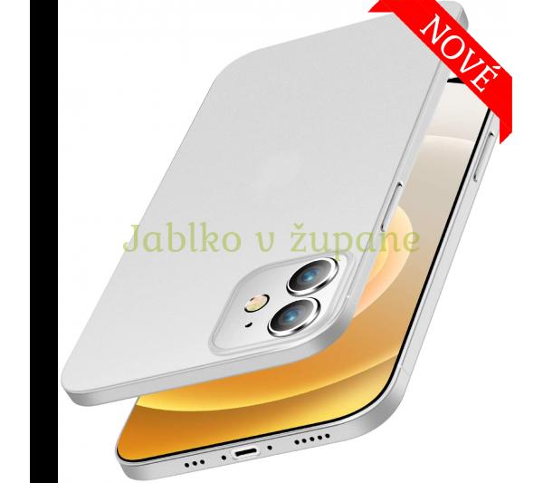 Ultratenký kryt iPhone 12 Mini - biely