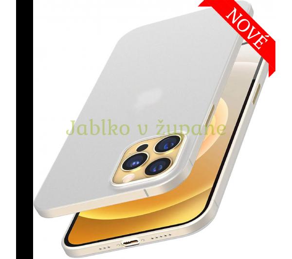 Ultratenký kryt iPhone 12 Pro Max - biely